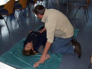 Erste-Hilfe-training